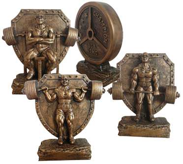 Powerlifting awards,powerlifting trophys,weightlifting trophys