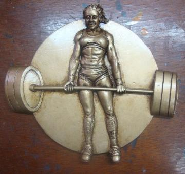 custom powerlifting awards