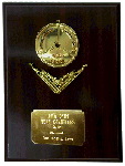 powerlifting medal plaque