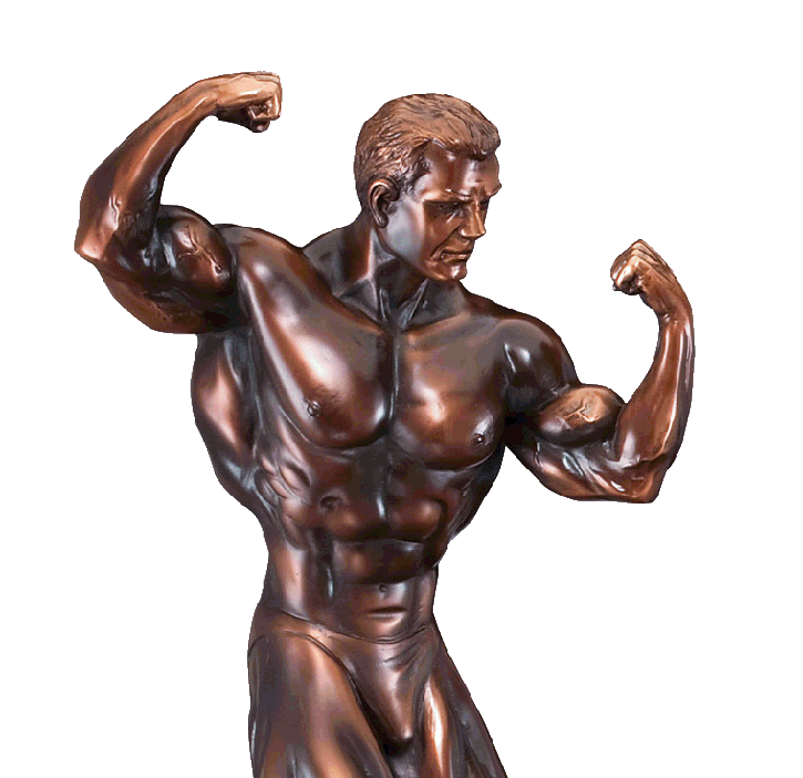 bodybuilding awards, sculpture statues